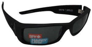 Spy New SPY OPTIC Sunglasses HIELO Soft Matte Black Frame w/ Grey-Green