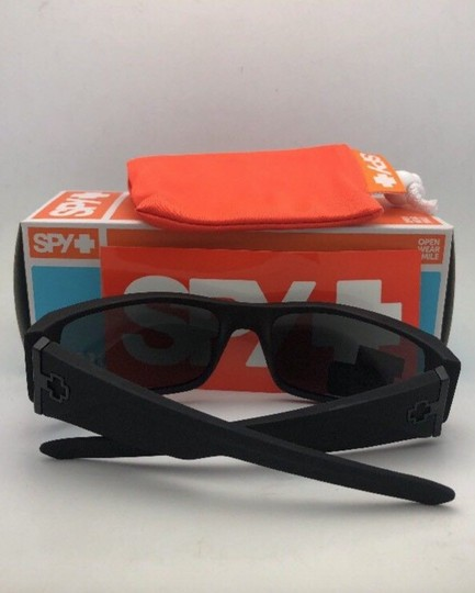 Spy New SPY OPTIC Sunglasses HIELO Soft Matte Black Frame w/ Grey-Green Image 2