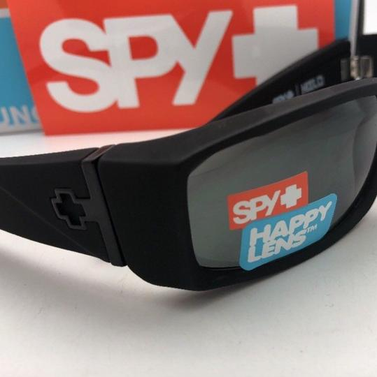 Spy New SPY OPTIC Sunglasses HIELO Soft Matte Black Frame w/ Grey-Green Image 7