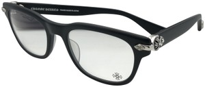 Chrome Hearts CHROME HEARTS Eyeglasses WELL STRUNG MBK 52-20 148 Matte Black Silver