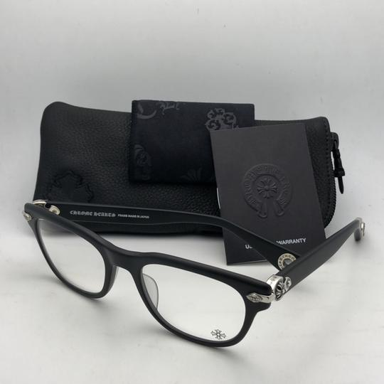 Chrome Hearts CHROME HEARTS Eyeglasses WELL STRUNG MBK 52-20 148 Matte Black Silver Image 11