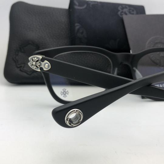 Chrome Hearts CHROME HEARTS Eyeglasses WELL STRUNG MBK 52-20 148 Matte Black Silver Image 4