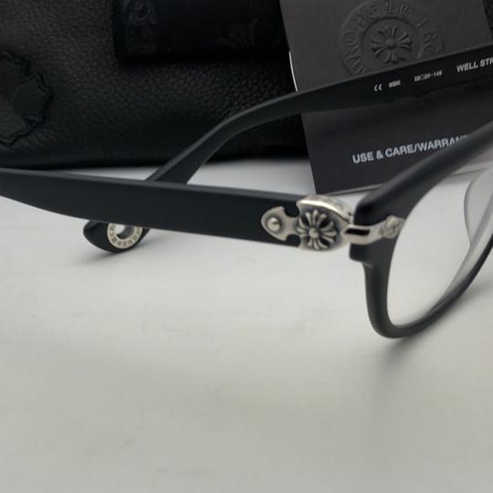 Chrome Hearts CHROME HEARTS Eyeglasses WELL STRUNG MBK 52-20 148 Matte Black Silver Image 6