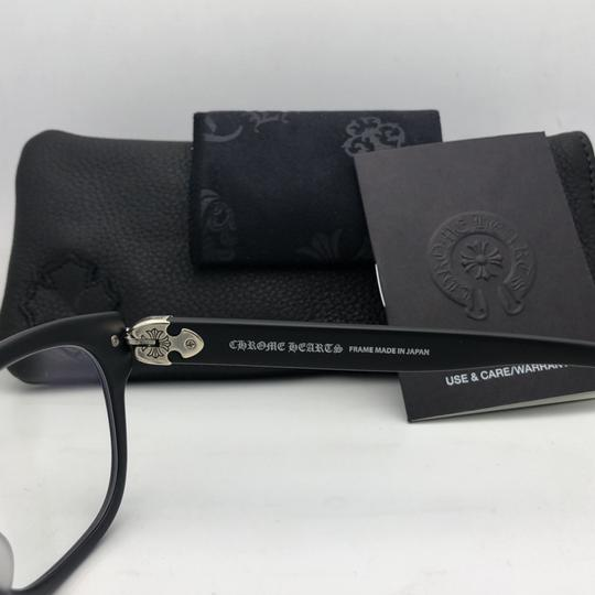 Chrome Hearts CHROME HEARTS Eyeglasses WELL STRUNG MBK 52-20 148 Matte Black Silver Image 8