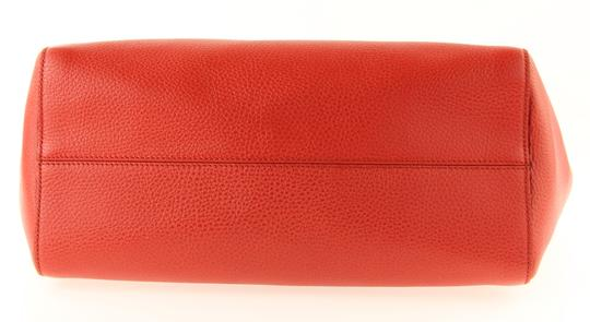 Gucci Leather Tote in Red Image 5