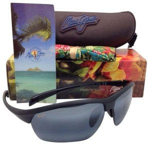 Maui Jim Polarized MAUI JIM Sunglasses STONE CRUSHERS MJ 429-2M Black w/ Grey
