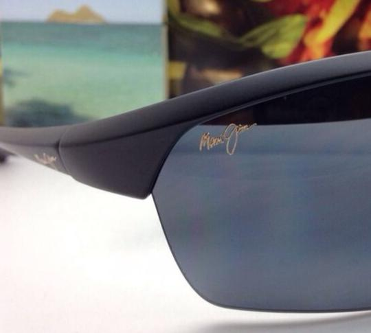 Maui Jim Polarized MAUI JIM Sunglasses STONE CRUSHERS MJ 429-2M Black w/ Grey Image 1