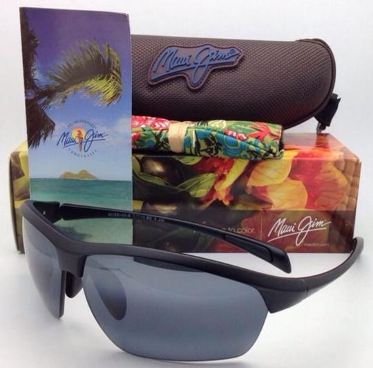 Maui Jim Polarized MAUI JIM Sunglasses STONE CRUSHERS MJ 429-2M Black w/ Grey Image 10