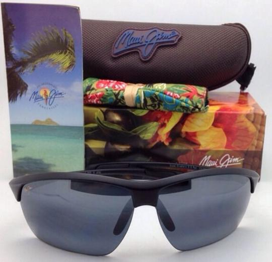 Maui Jim Polarized MAUI JIM Sunglasses STONE CRUSHERS MJ 429-2M Black w/ Grey Image 11
