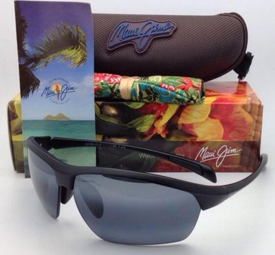 Maui Jim Polarized MAUI JIM Sunglasses STONE CRUSHERS MJ 429-2M Black w/ Grey Image 2