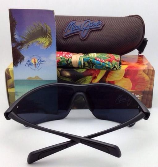 Maui Jim Polarized MAUI JIM Sunglasses STONE CRUSHERS MJ 429-2M Black w/ Grey Image 4