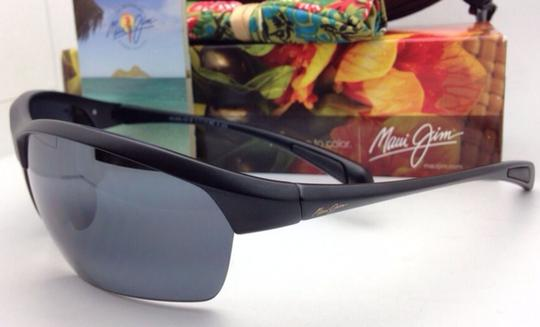 Maui Jim Polarized MAUI JIM Sunglasses STONE CRUSHERS MJ 429-2M Black w/ Grey Image 5