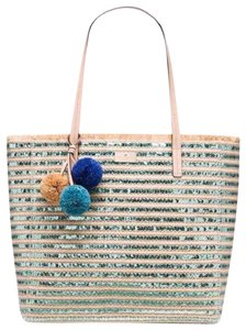 Kate Spade Limited Edition Leather Hawaiian Beach Tote in gold