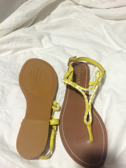 Ralph Lauren Yellow Sandals