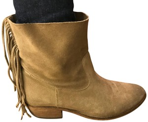 Steven by Steve Madden tan suede Boots