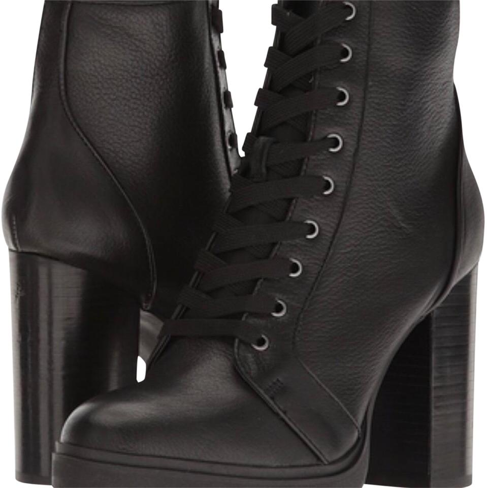 d3d7dfe01 Steve Madden Black Laurie Boots/Booties Size US 9 Regular (M, B ...