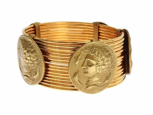 Dolce&Gabbana Roman Coin bangle bracelet