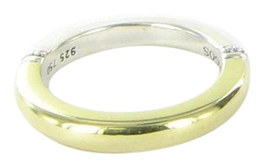 Lagos 18k Yellow Gold Sterling Silver Caviar Smooth