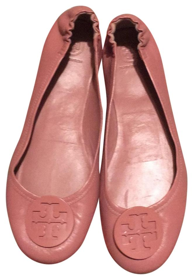 b8f6424b9 Tory Burch Goan Sand Minnie Travel Ballet Leather Flats Size US 10.5 ...