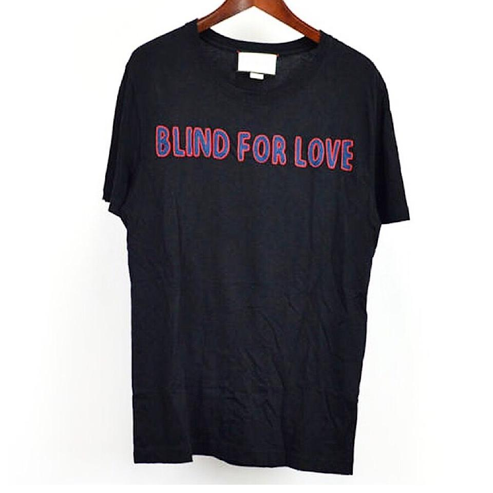 3f96f04c5 Gucci XS Black 17ss Blind For Love Tee Shirt Size 4 (S) - Tradesy