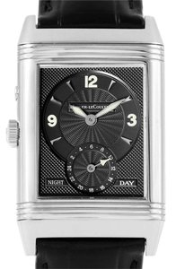 Jaeger-LeCoultre Jaeger LeCoultre Reverso Duo Day Night Steel Watch 270.8.54 Q270854
