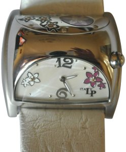 Lucien Piccard Lucien Piccard Swiss Made Diamond Flower Fashion Women's Wristwatch