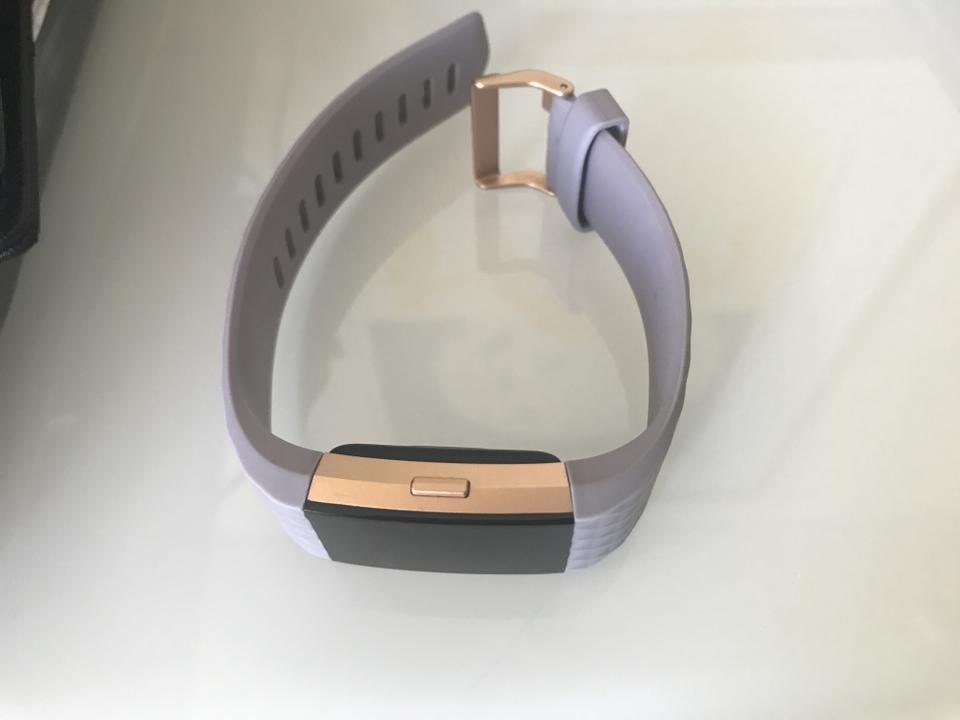 fitbit Lavender Rose Gold Plated Charge 2™ Watch 27% off retail