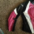 Joe Rocket Black/Pink Genuine Leather Jacket Size 14 (L) Joe Rocket Black/Pink Genuine Leather Jacket Size 14 (L) Image 7