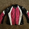 Joe Rocket Black/Pink Genuine Leather Jacket Size 14 (L) Joe Rocket Black/Pink Genuine Leather Jacket Size 14 (L) Image 8