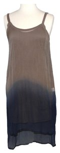 Chan Luu short dress Blue and Sand on Tradesy