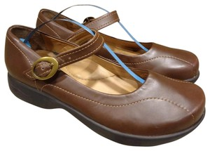 Dansko Mary Jane brown Mules