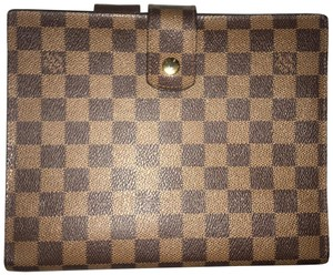 Louis Vuitton Louis Vuitton Damier Ebene Agenda GM