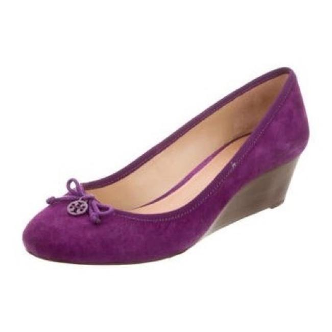 Item - Purple Magenta Soho Chelsea 45mm Lux Suede Heels Wedges Size US 7 Regular (M, B)