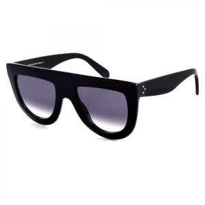 Céline NEW Celine Andrea CL41398 Oversized Black Flat Top Sunglasses