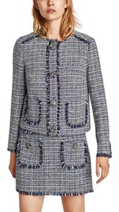 Zara Zara tweed jacket and matching tweed skirt