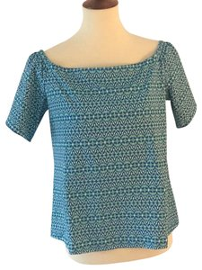 J. McLaughlin Casual Top Teal
