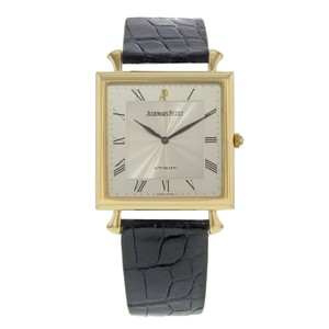 Audemars Piguet Audemars Piguet 32mm Square 18K Yellow Gold Automatic Watch (18307)