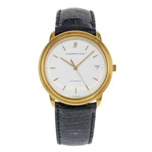 Audemars Piguet 36mm White Dial Round 18K Yellow Gold Automatic (18315)