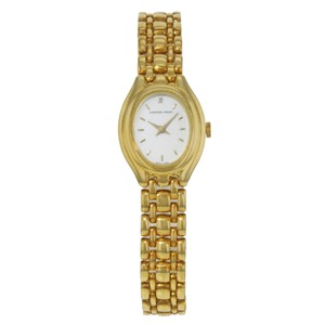 Audemars Piguet 19mm Oval White Dial 18K Yellow Gold Hand Wind (18318)