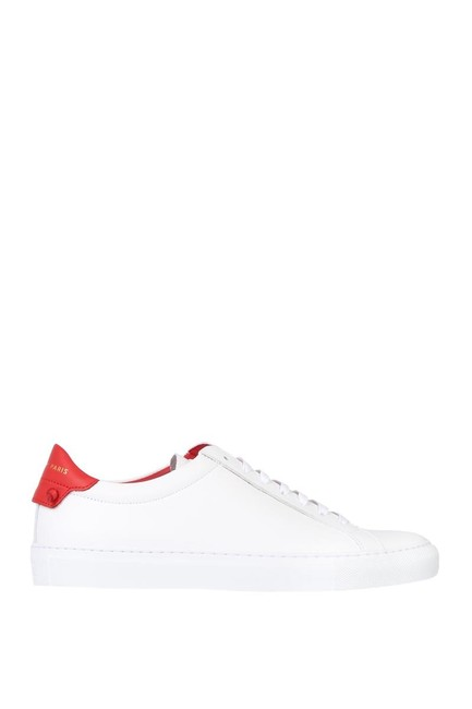 Item - White/Red & Urban Knots Sneakers Size EU 39 (Approx. US 9) Regular (M, B)