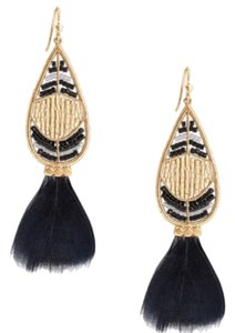Stella & Dot Wisteria Feather Earrings by Stella and Dot