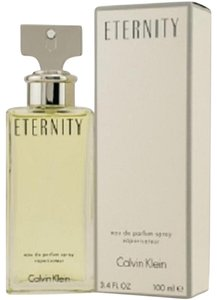 Calvin Klein ETERNITY by Calvin Klein 3.4 oz / 100 ml edp Spray for Women New