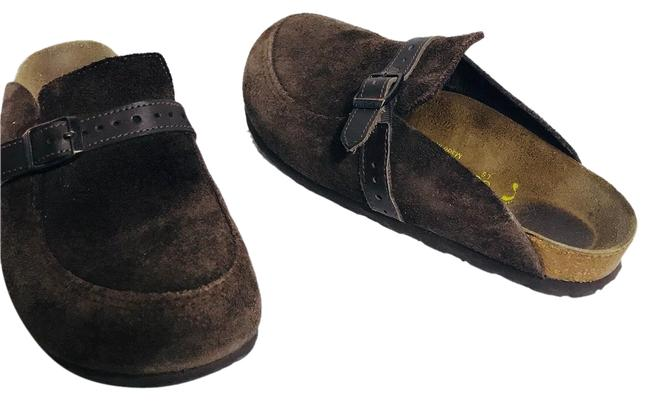 Item - Brown Suede 36/L5 Mules/Slides Size EU 36 (Approx. US 6) Narrow (Aa, N)