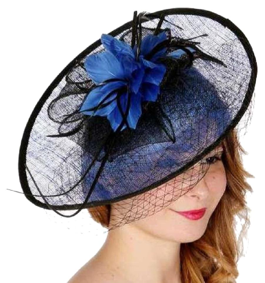 Wedding fascinator Hat New Dress Formal Dressy Fan Shaped Feather Fascinator  ... 58b66b478c4