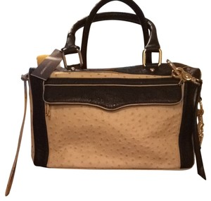 Rebecca Minkoff Satchel in Nude / Black