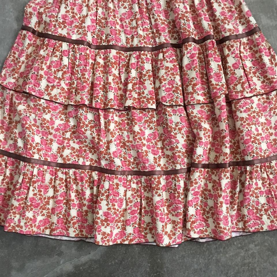Midi Maxi Smocked Free People Casual Dress Pink Floral 4xUqPaIq