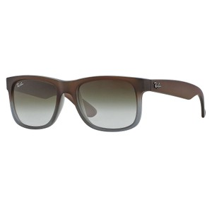 Ray-Ban Ray-Ban-Justin Classic Sunglasses Brown/ Green Gradient 55mm RB4165