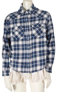 BDG Casual Button Down Shirt Multicolor