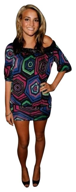 Preload https://item2.tradesy.com/images/marciano-multicolor-marina-beaded-mini-night-out-dress-size-8-m-2308631-0-1.jpg?width=400&height=650