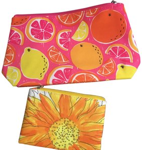 Clinique flower and fruit bags